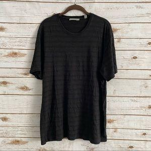 Vince Men's Black Space Dye T-Shirt Size Large